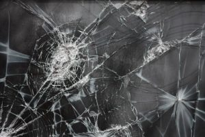 shattered glass depicting loss of life