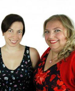 Photo of Liz Wright and Frederika Roberts