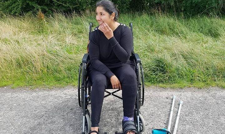 Anj Handa demonstrating resilience