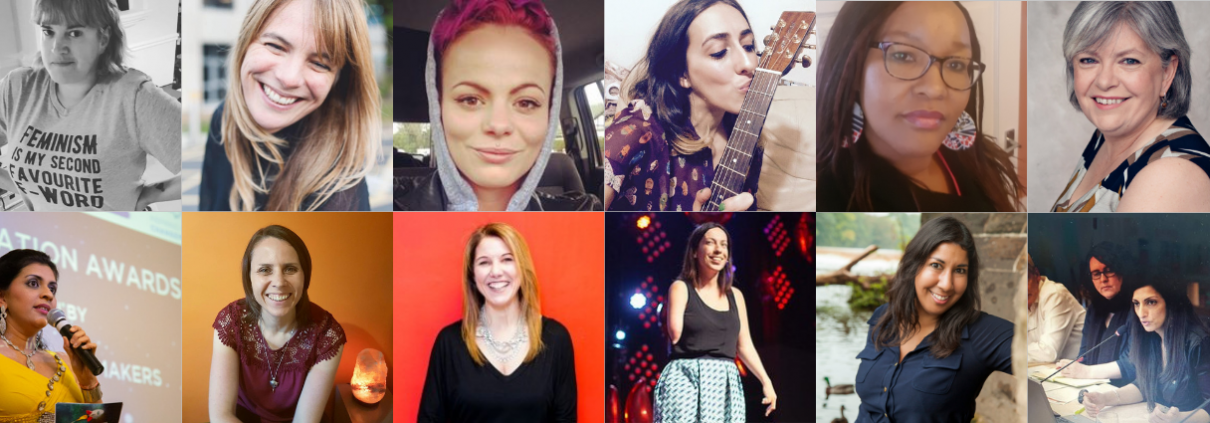 A collage of Inspiring Women Changemakers