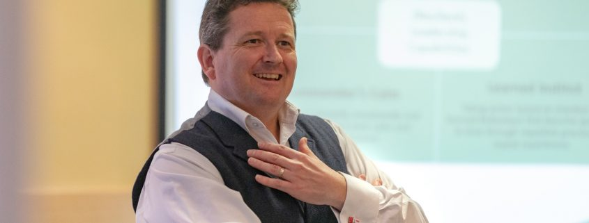 The Resilience Coach Russell Harvey sponsor of social impact star